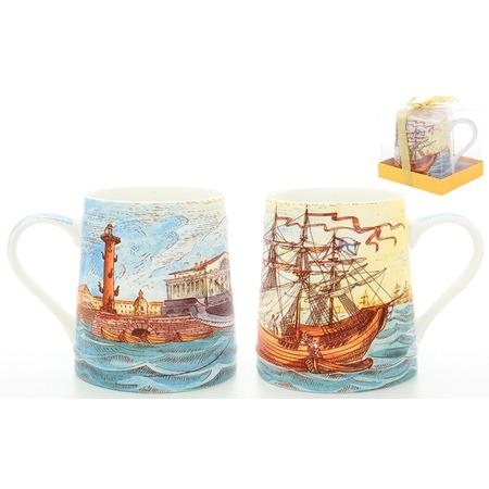 Купить Кружка пивная Elan Gallery «Морская флотилия»