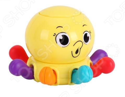 Игрушка-погремушка Huile Toys «Осьминог»
