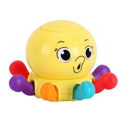 Купить Игрушка-погремушка Huile Toys «Осьминог»