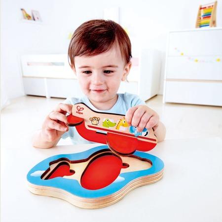 Купить Вкладыши для малыша Hape «Самолет» 3D