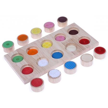 Купить Игра развивающая Bradex «Тактильное лото»