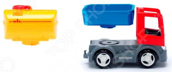 Машинка игровая EFKO «Грузовик с цистерной и сменным кузовом»