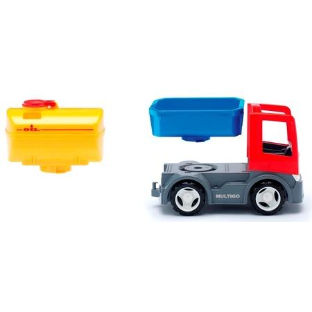 Купить Машинка игровая EFKO «Грузовик с цистерной и сменным кузовом»