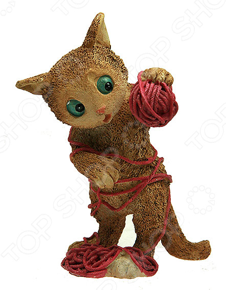 Фигурка декоративная «Котенок с клубком» 22888