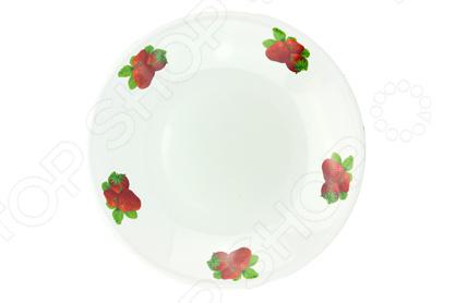 Блюдо Эмаль «Клубника» блюдо эмаль микс