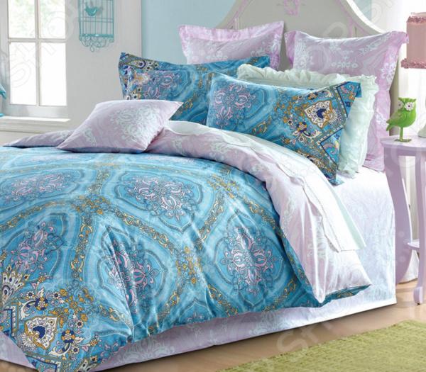 Комплект постельного белья La Noche Del Amor А-627 комплект белья la noche del amor евро наволочки 70х70 цвет сиреневый голубой зеленый а 652 200 240 70