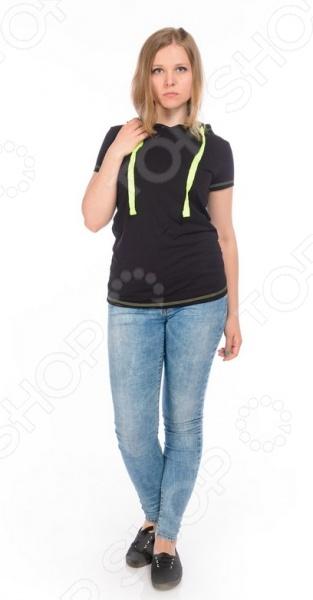 Футболка с капюшоном женская RAV RAV02-011