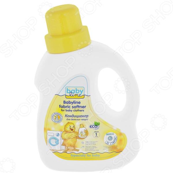 Кондиционер для детских вещей Babyline 7290015-293020 детские моющие средства kodomo кондиционер для детских вещей мягкая упаковка 800 мл