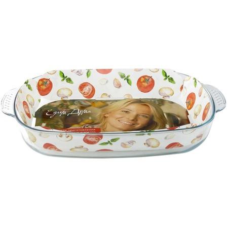 Купить Форма для выпечки стеклянная Едим Дома PVH4