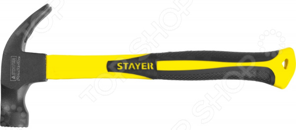 Молоток-гвоздодер Stayer Fiberglass-M 2027-450