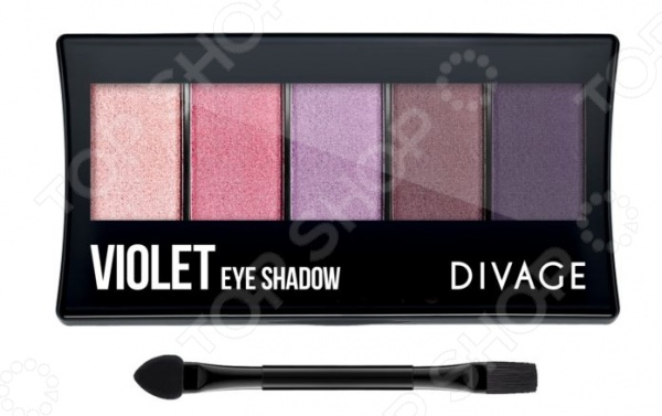 Набор теней для век DIVAGE Palettes Eye Shadow Violet