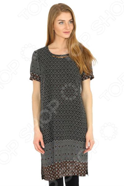 Платье Finn Flare B17-32019. Цвет: черный
