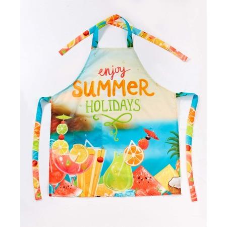 Купить Фартук Сирень «Всегда каникулы»