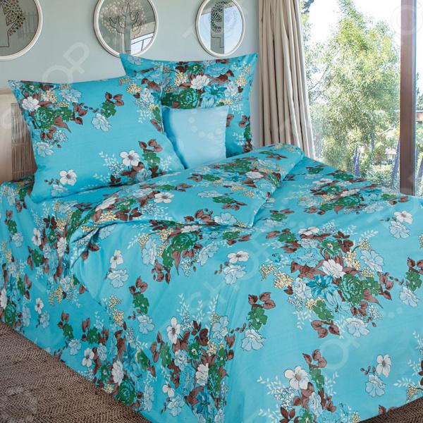Комплект постельного белья «Лазурный сад». 1,5-спальный