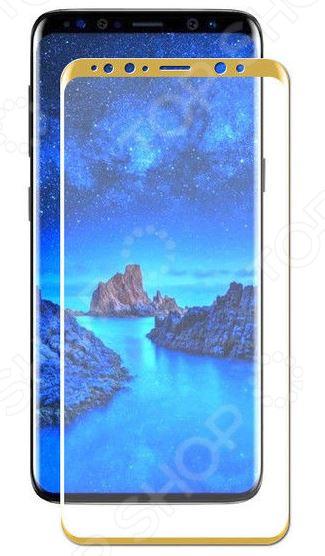 Стекло защитное 3D Media Gadget для Samsung Galaxy S9 Plus стекло защитное 3d media gadget полноклеевое для samsung galaxy s9 plus