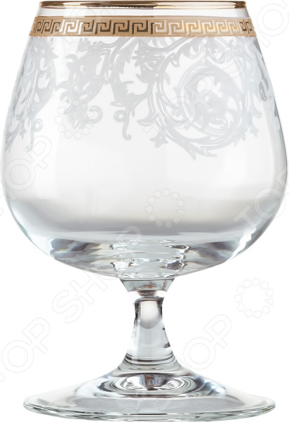 Набор бокалов для бренди Гусь Хрустальный «Эдем. Каскад»