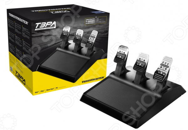 Педали Thrustmaster T3PA, 3 Pedals Add On для PS 3/PS 4/Xbox One и ПК