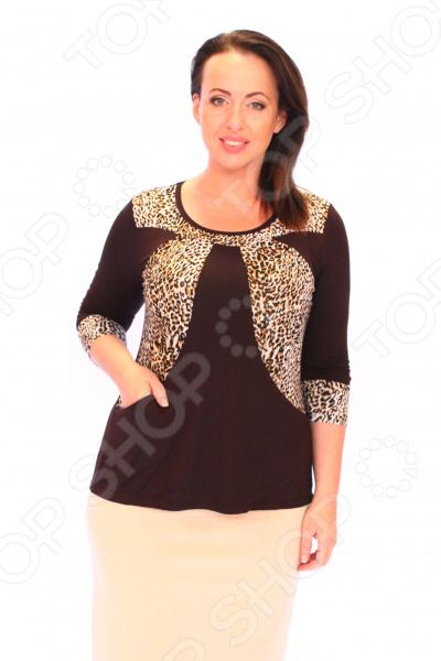 Туника Матекс «Анабелла». Цвет: коричневый туника матекс анабелла цвет сиреневый