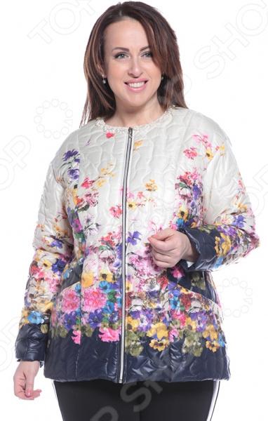 Куртка ТРЕНД «Торжественный вид». Цвет: бежевый