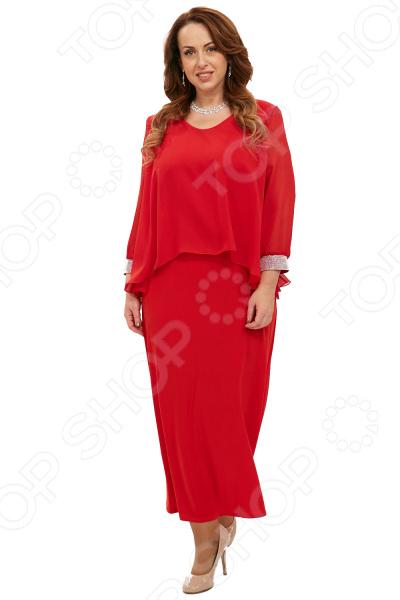 Платье Pretty Woman «Королевский прием». Цвет: красный