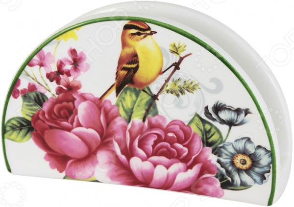 Салфетница Imari «Цветы и птицы»