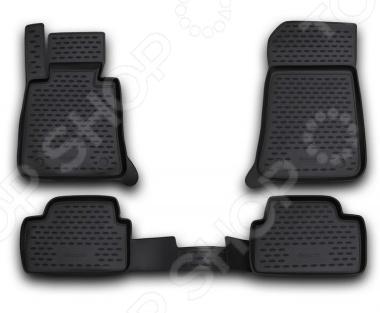 Комплект 3D ковриков в салон автомобиля Novline-Autofamily BMW Series 5 F10 2010-2013 - фото 5