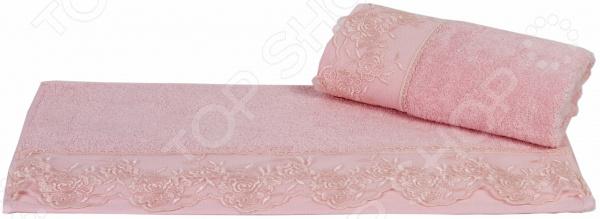 Полотенце махровое подарочное Hobby Home Collection Almeda. Размер: 50х90 см