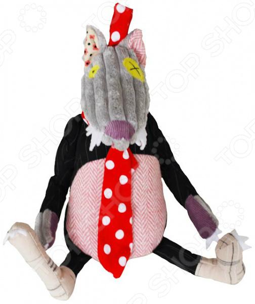 Мягкая игрушка со звуком Les Deglingos BigBos