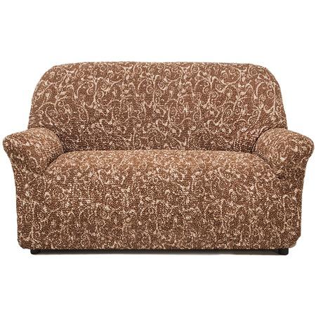 Купить Натяжной чехол на двухместный диван Еврочехол «Виста. Инка»