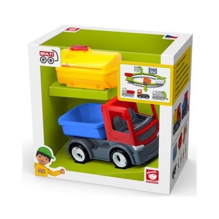 Купить Машинка игровая EFKO «Грузовик со сменной цистерной»