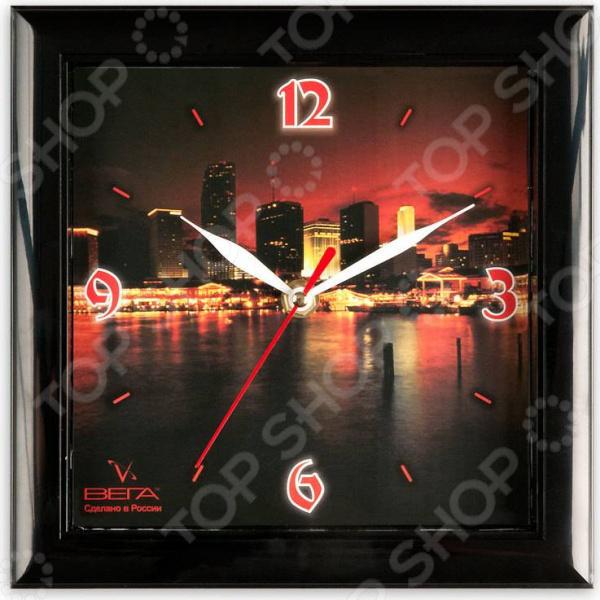 Часы настенные Вега П 3-6-85