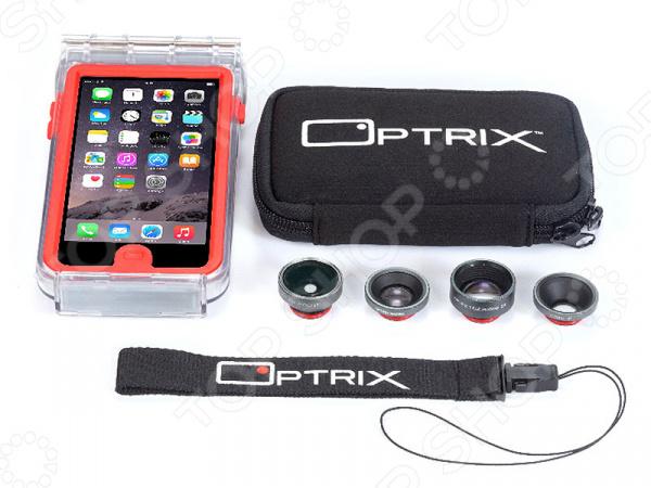 Набор аксессуаров для смартфона Optrix Photo Pro для iPhone 6/6S optrix bg black red защитная сумка для смартфона
