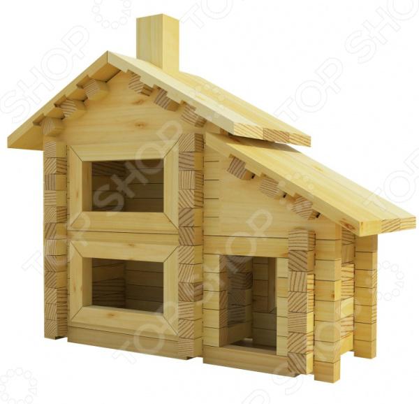 Конструктор деревянный Лесовичок «Разборный домик №1» конструктор лесовичок разборный домик 3 из 150 деталей les 003