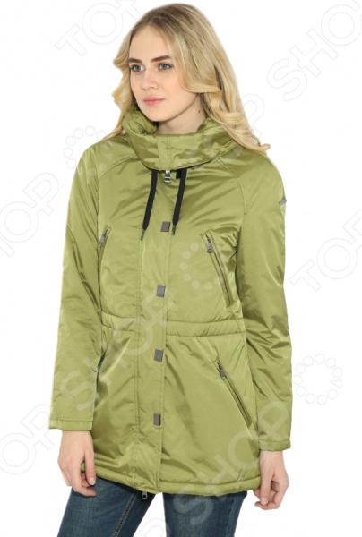 цена  Куртка Finn Flare B17-12007. Цвет: оливковый  онлайн в 2017 году