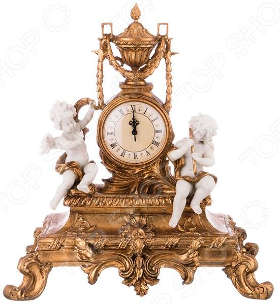 Часы настольные «Ангелочки» 61-321 купить часы мальчику 7 лет