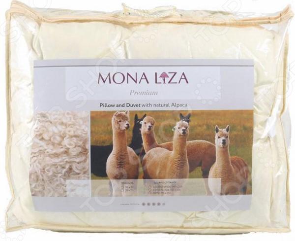 Подушка с термостежкой Mona Liza «Шерсть Альпаки»