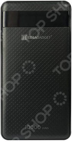 Аккумулятор внешний Media Gadget XPC-106 MLC 2600mah power bank usb блок батарей 2 0 порты usb литий полимерный аккумулятор внешний аккумулятор для смартфонов pink