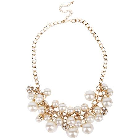 Купить Ожерелье Laura Amatti «Игривый жемчуг»