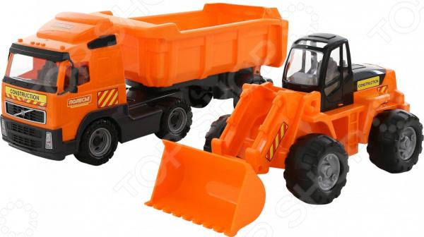 Набор машинок игрушечных POLESIE Volvo 0384_PLS
