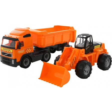 Купить Набор машинок игрушечных POLESIE Volvo 0384_PLS