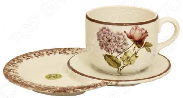 Чайная пара с подносом LCS «Сады Флоренции» LCS - артикул: 1676125