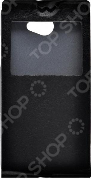 Чехол-флип skinBOX LG Max/L Bello зеленый дизайн одуванчика pu кожаный флип обложка кошелек карты держатель чехол для lg bello ii