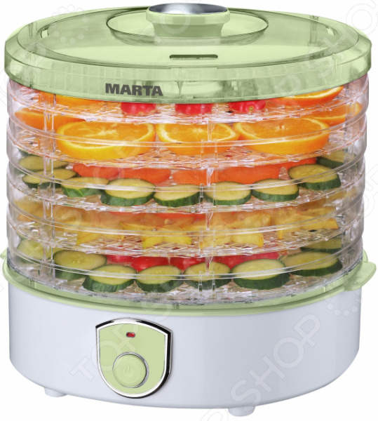 Сушилка для овощей и фруктов Marta MT-1950 сушилка для продуктов marta mt 1945 red garnet