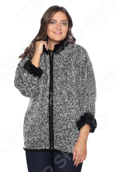 Жакет Milana Style «Стихии любви». Цвет: черный жакет milana style хрустальная роса цвет джинсовый