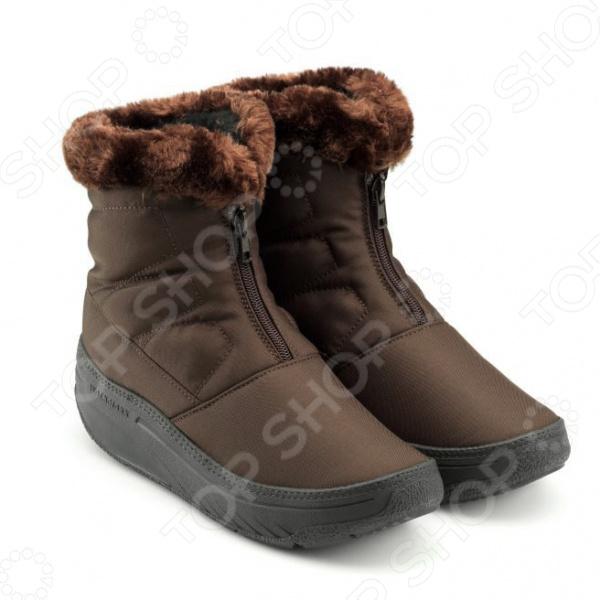 Ботинки зимние женские Walkmaxx 2.0. Цвет: коричневый