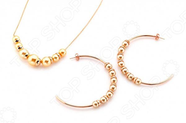 Комплект: ожерелье и серьги Bradex «Матильда»