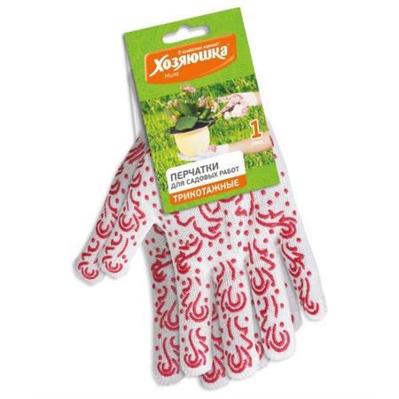 Купить Перчатки садовые Хозяюшка 17029