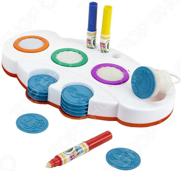 Набор: маркеры и штампы Crayola Color Wonder «Подводный мир» раскраска crayola color wonder тачки 12787