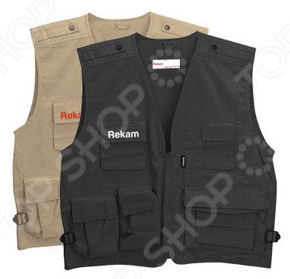 Фотожилет Rekam VEST 10 ver 2016 cherry plate carrier aor1 cpc vest tactical military vest fit zipper panel free shipping stg050990