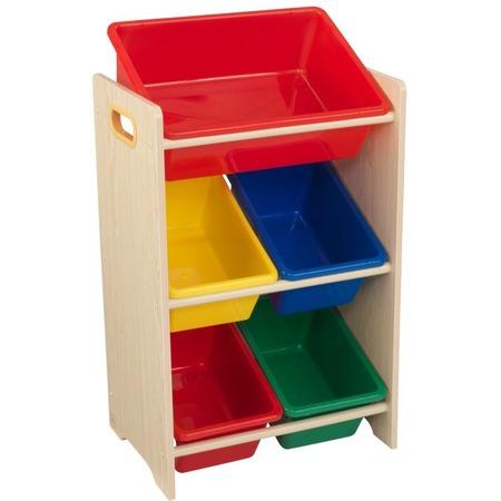 Купить Система для хранения игрушек KidKraft с 5 контейнерами 15472_KE
